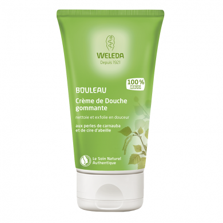 WELEDA - Crème de douche gommante au Bouleau