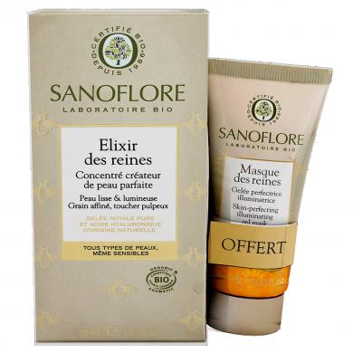 SANOFLORE - Duo élixir des reines + mini masque des reines offert