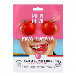 PULPE DE VIE - Pina tomata - masque en tissu imperfections