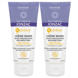 Duo Crème mains effet protecteur seconde peau