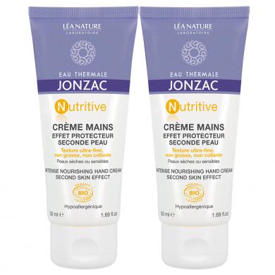 JONZAC EAU THERMALE - Duo Crème mains effet protecteur seconde peau