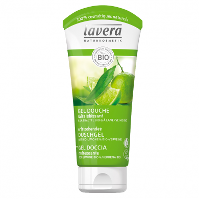 LAVERA - Gel douche Rafraîchissant Verveine & Limette Bio