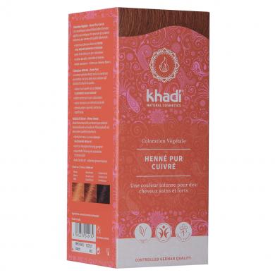 KHADI - Coloration naturelle aux plantes - Rouge Henné Pur