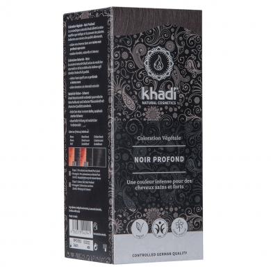 KHADI - Coloration naturelle aux plantes - Noir