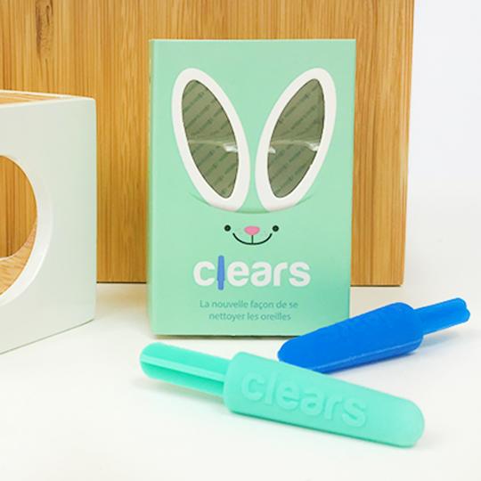 Bâtonnets d'oreilles écologiques en silicone médical