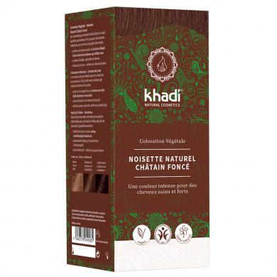 KHADI - Coloration naturelle aux plantes - Brun Noisette Naturel
