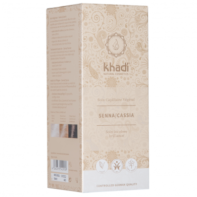 KHADI - Coloration naturelle aux plantes - senna cassia