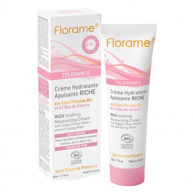 FLORAME - Tolérance - crème hydratante apaisante riche