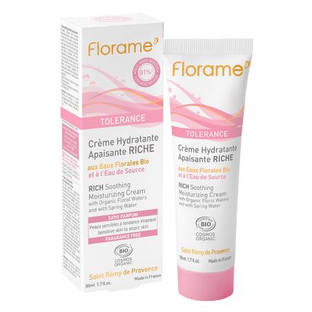 Tolérance - crème hydratante apaisante riche