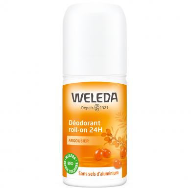 WELEDA - Déodorant roll-on 24h argousier