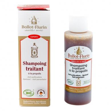 BALLOT-FLURIN - Shampoing traitant anti-pelliculaire à la propolis bio