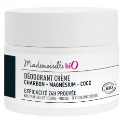 Déodorant crème charbon - magnésium - coco