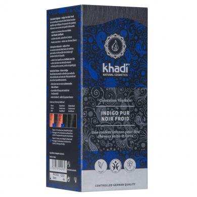 KHADI - Coloration naturelle aux plantes - bleu indigo pur