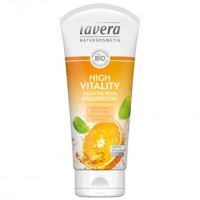LAVERA - Douche soin orange & menthe - High Vitality