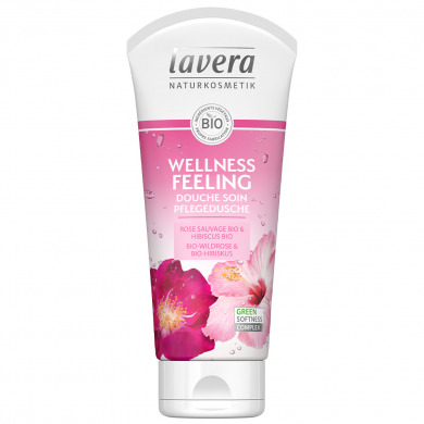 LAVERA - Douche soin rose sauvage & hibiscus - Wellness Feeling