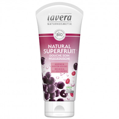 LAVERA - Douche soin açaï & baies de goji - Natural Superfruit