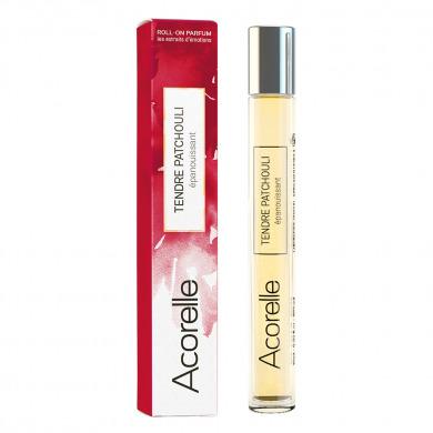 ACORELLE - Eau de parfum roll-on patchouli essentiel - epanouissant