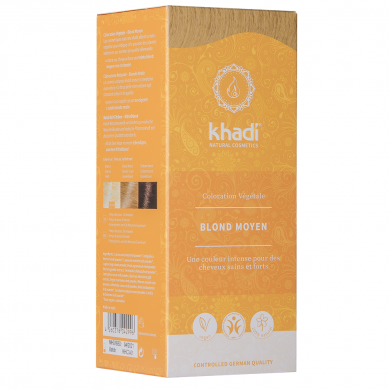 KHADI - Coloration naturelle aux plantes - blond moyen