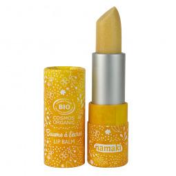 Baume à lèvres brillant nacré vanille