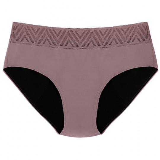 Culotte menstruelle mauve - Hiphugger