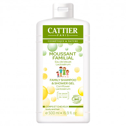 CATTIER - Moussant familial sans savon