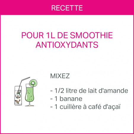 Poudre d'açaï - vitalisant & antioxydant