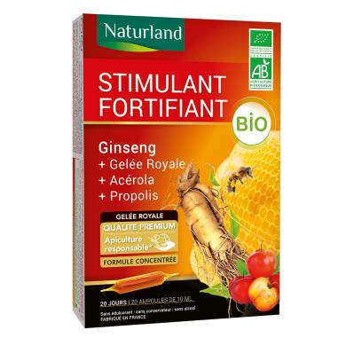 NATURLAND - Ginseng - gelée royale - acérola - propolis