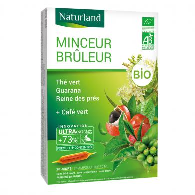 NATURLAND - Minceur brûleur thé vert - bouleau - reine des près