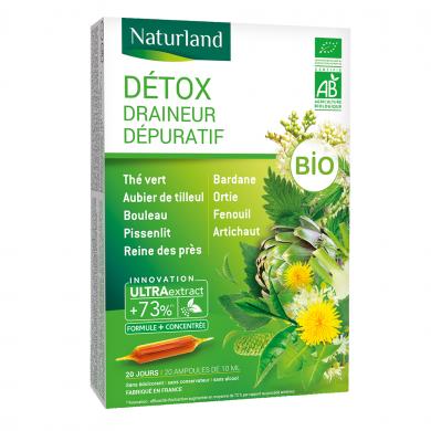 NATURLAND - Détox - 9 plantes bio