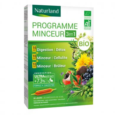 NATURLAND - Programme minceur bio 3 en 1