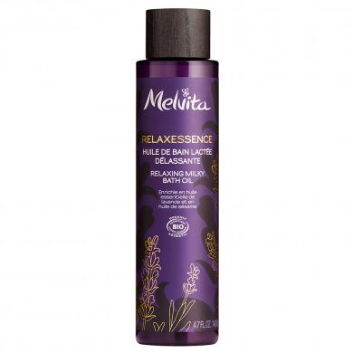MELVITA - Huile de bain lactée délassante - Relaxessence