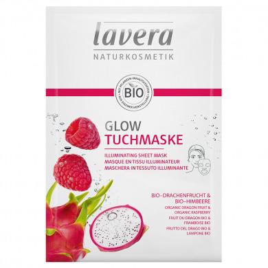 LAVERA - Masque en tissu illuminateur
