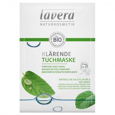 LAVERA - Masque en tissu purifiant