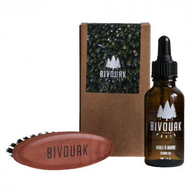 BIVOUAK - Coffret duo barbe