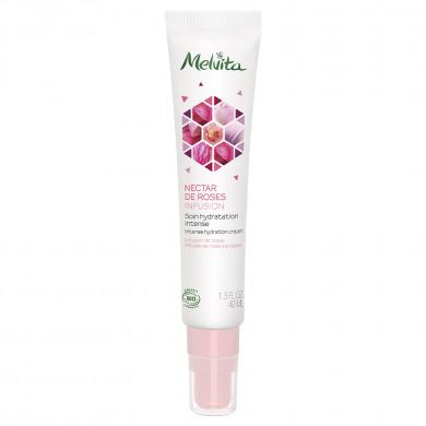 MELVITA - Soin de jour hydratant nectar de roses