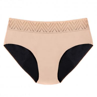 THINX - Culotte menstruelle beige - Hiphugger