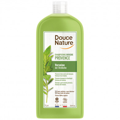 DOUCE NATURE - Shampooing douche provence verveine
