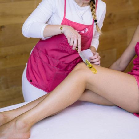 Épilation demi-jambes + maillot ou aisselles