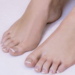 De jolis pieds