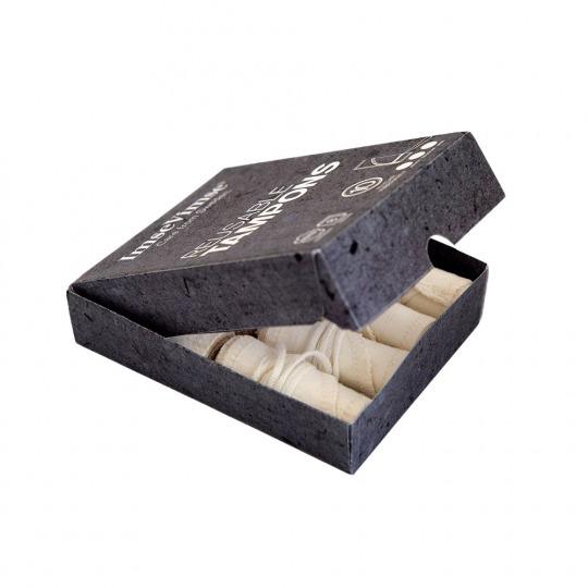 Tampons lavables en coton bio - Flux léger