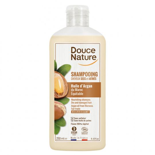 Shampooing crème à l'huile d'argan
