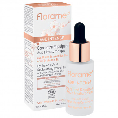 FLORAME - Concentré repulpant acide hyaluronique Age Intense