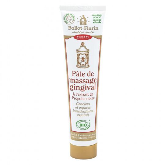 Pâte de massage gingival à la propolis noire