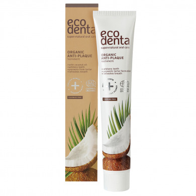 ECODENTA - Dentifrice coco zinc tartre