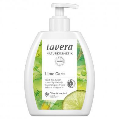 LAVERA - Savon liquide mains au citron vert