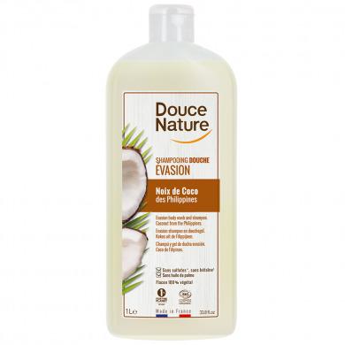 DOUCE NATURE - Shampooing douche évasion coco