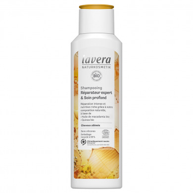 LAVERA - Shampooing réparateur expert & soin profond