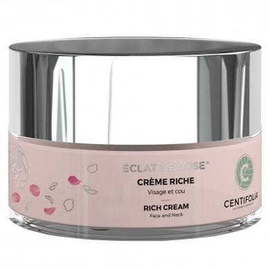 CENTIFOLIA - Crème riche éclat de rose