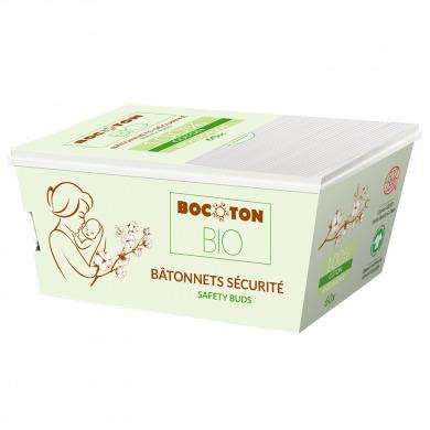 BOCOTON BIO - Bâtonnets d'oreilles bébé