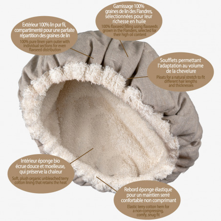 Bonnet chauffant ®